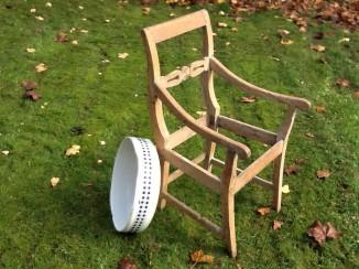 Sædeløs stol